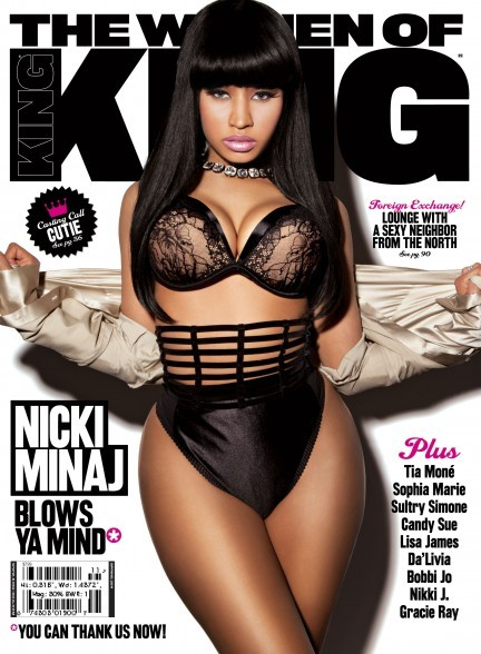 Nicki Minaj Covers King Magazine