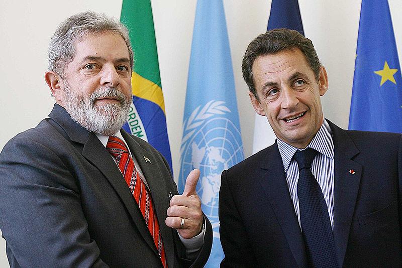 Sarkozy quer assento para o Brasil Conselho de Segurança da ONU