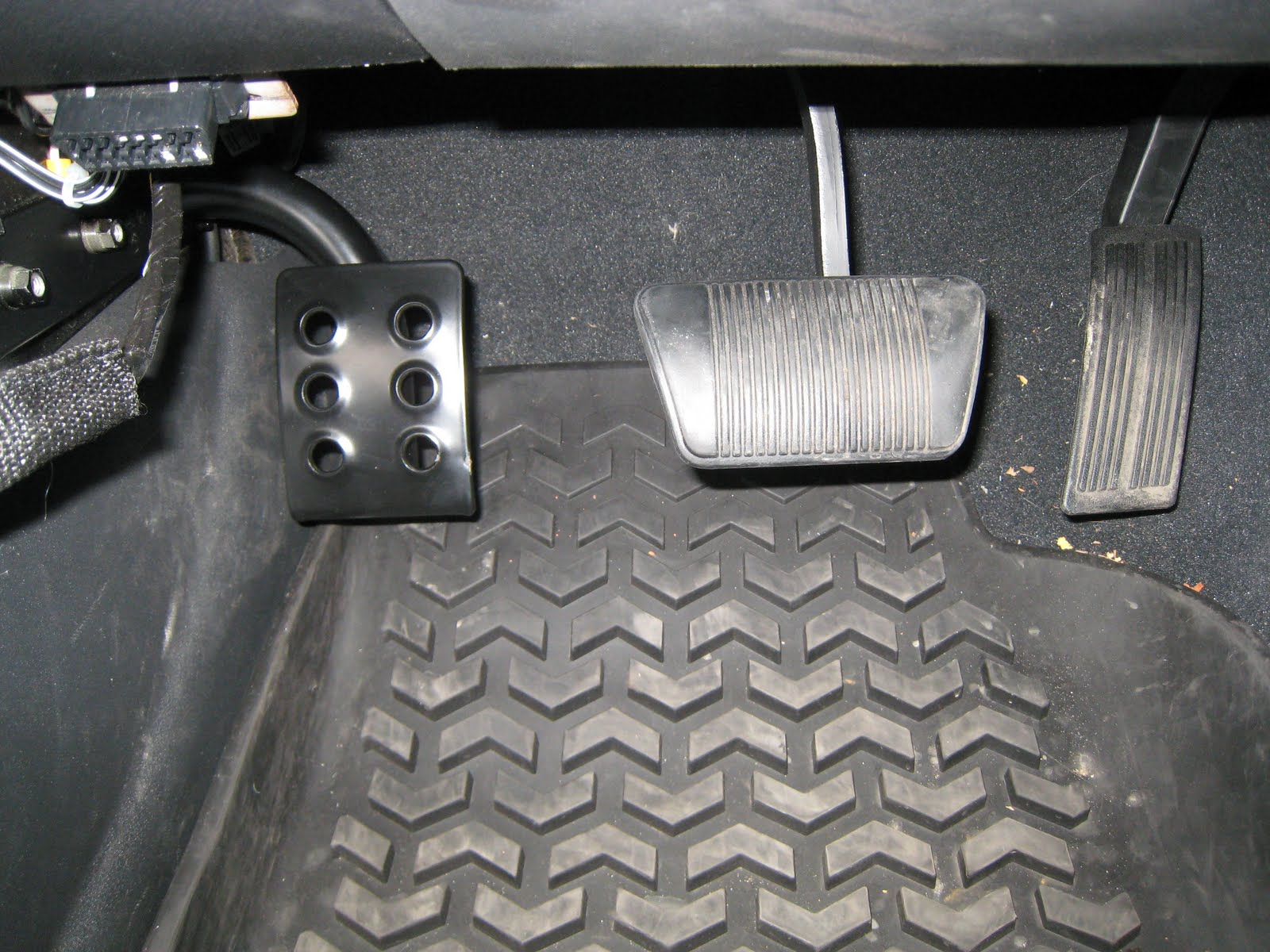 Jim S Projects Installing A Dead Pedal On Jeep Wrangler