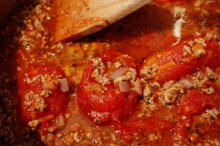 The Lazy Housewife Cooks: Pastor Ryan's Bolognese Sauce