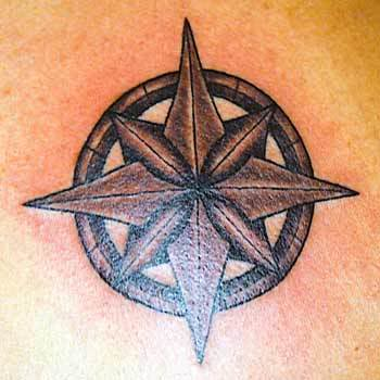 tribal star tattoo for men. Tattoo the maritime star had