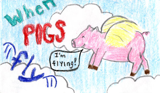 pigs are flying obama is gone