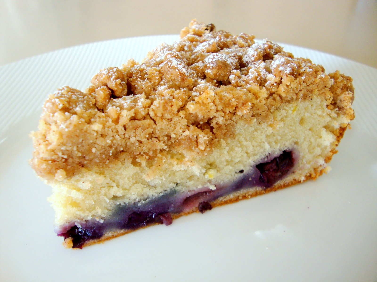 AJ's Cooking Secrets: Blueberry Crumb Cake