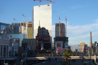 Vegas highrise construction