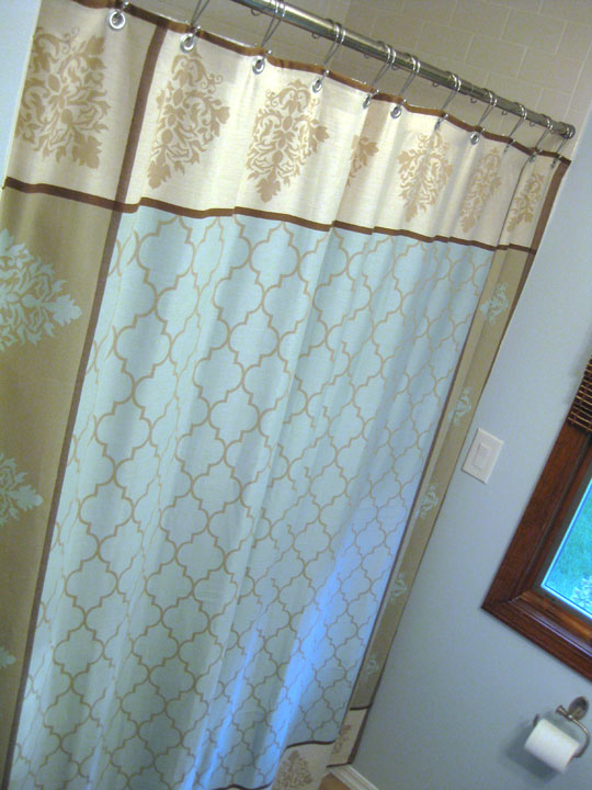 Sohl Design DIY Shower Curtain