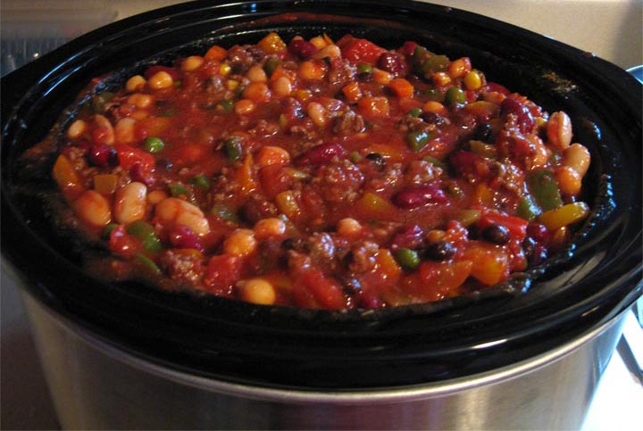 Sohl Design: Vegetable Beef Chili (or Vegetatarian Chili without Beef)
