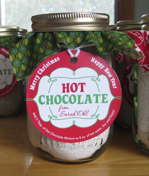 Sohl design homemade hot chocolate for Homemade christmas gifts for adults