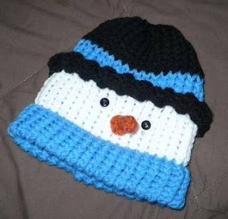 Michelle's Frosty Snowman Hat