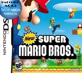 Nds roms Juegos - New Super Mario Bros