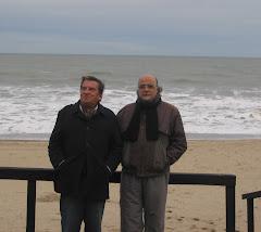 Mux y Pallaoro en Villa Gesell, agosto 2008