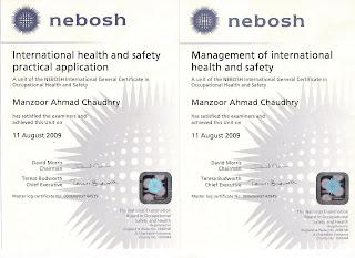 NEBOSH International General Certificate Ii Iii
