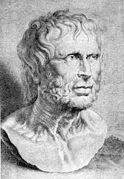 Grabado de Séneca según Rubens