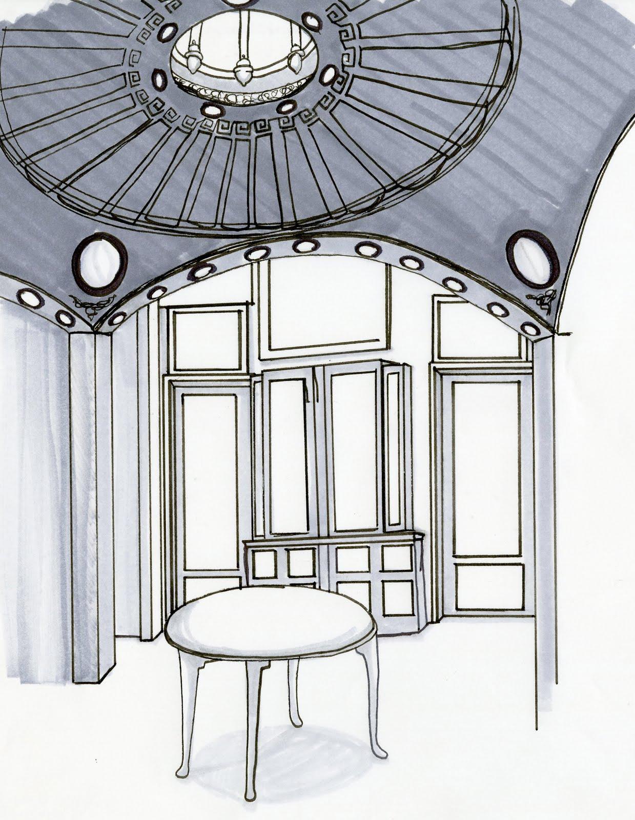 Rebecca U0026 39 S Third Year Blog Folio  Sir John Soane House Drawings