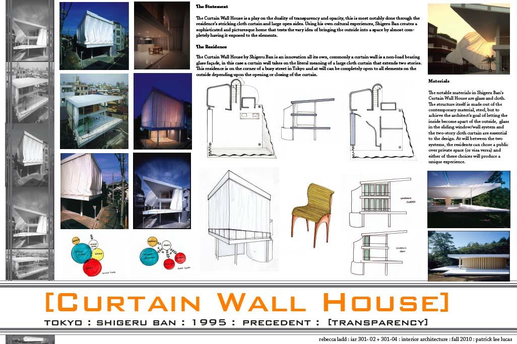 Shigeru Ban Curtain Wall House Details
