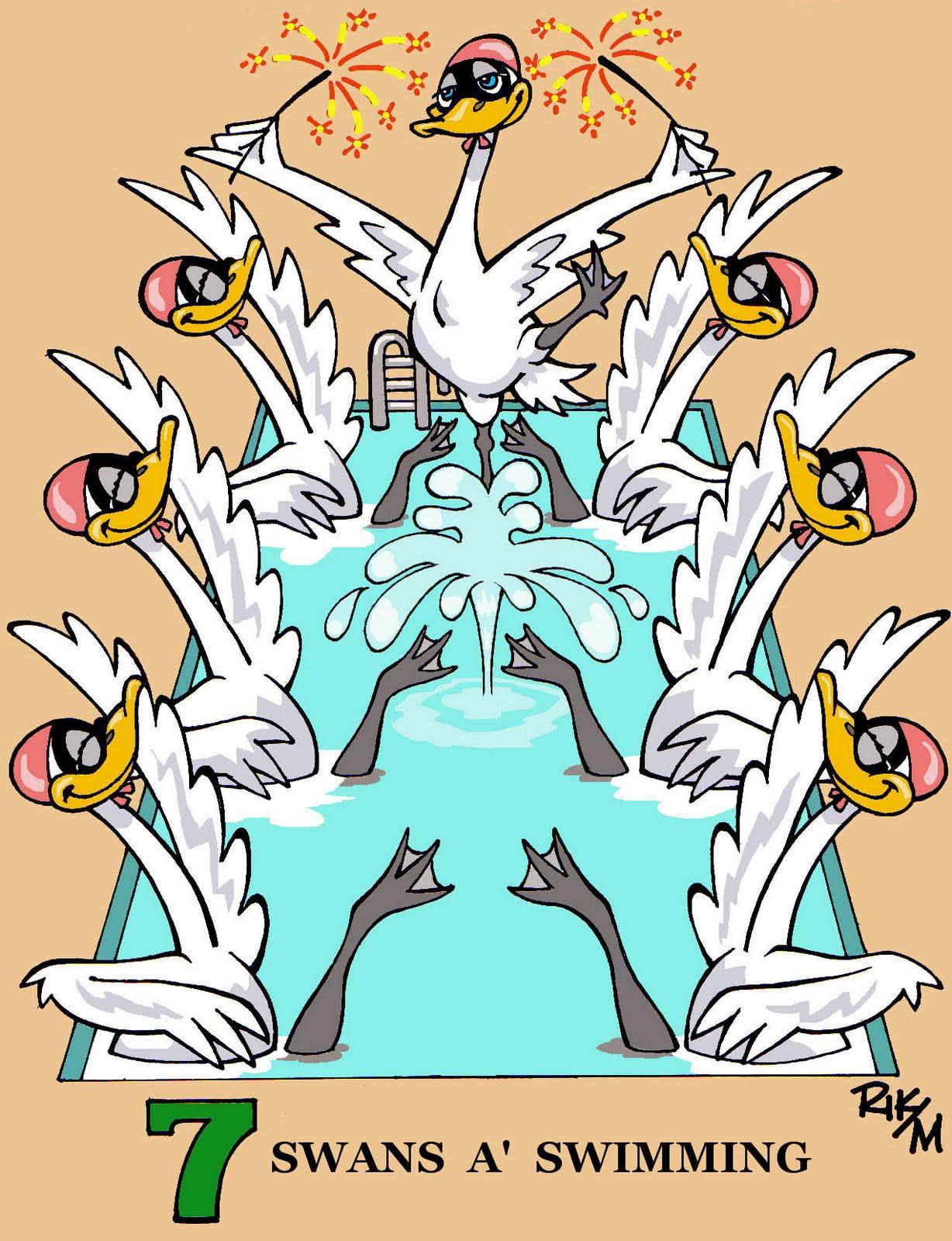Riktoonz -- Cartoonist/Caricaturist Rick C. Moore: On the 5th, 6th ...
