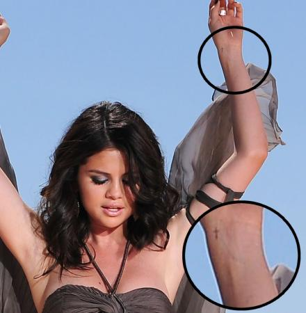 SELENA TATTOO     All Of Selena Gomez Tattoos
