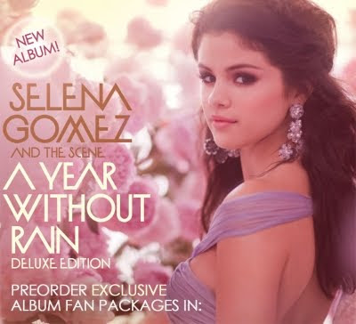 selena gomez year without rain album cover. A YEAR WITHOUT RAIN ALBUM IS