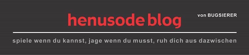 henusode-blog | der bugsierer