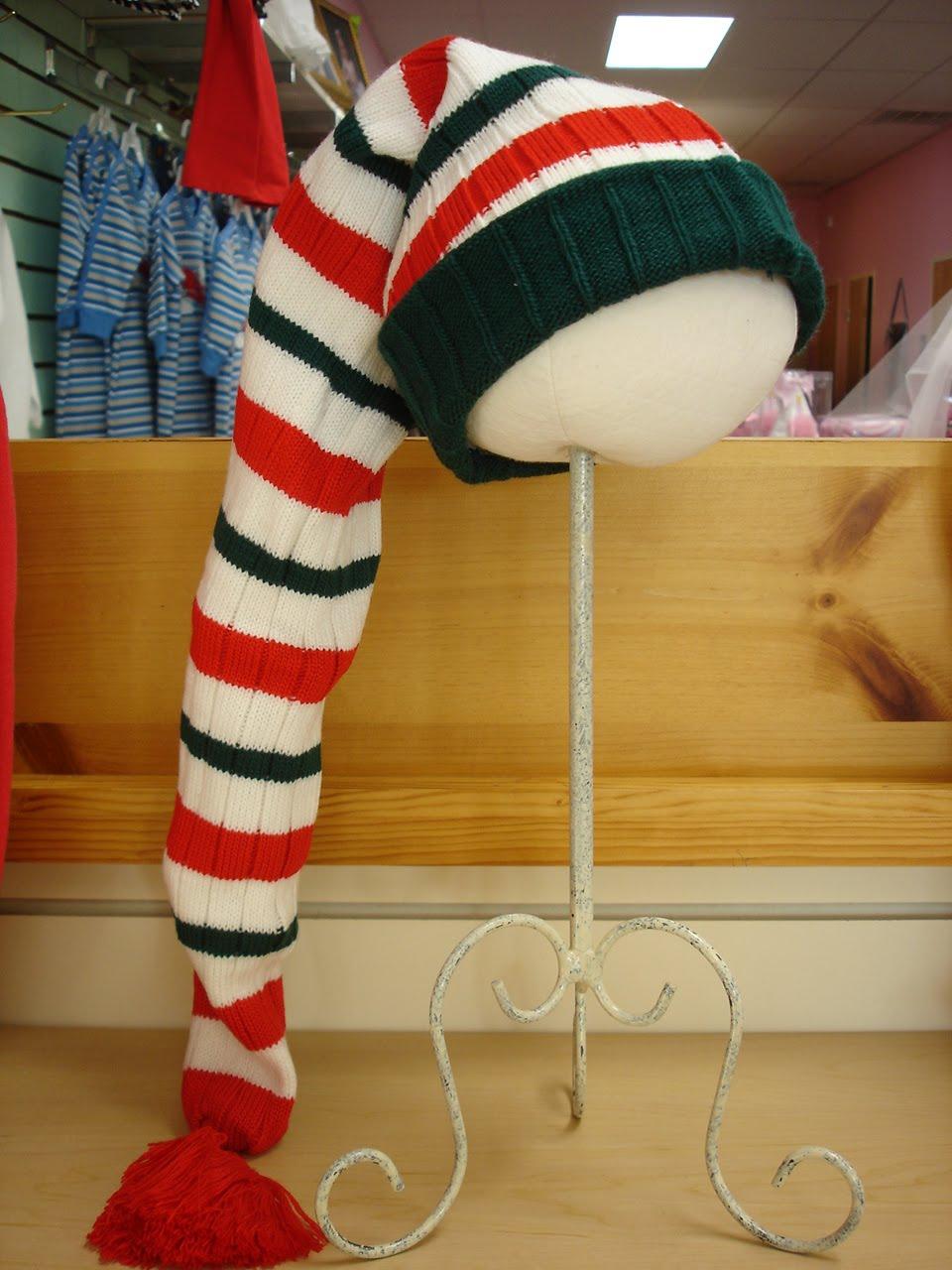 Santa hat pantyhose with control