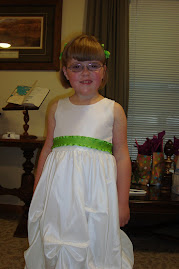 Sarah as Flower Girl