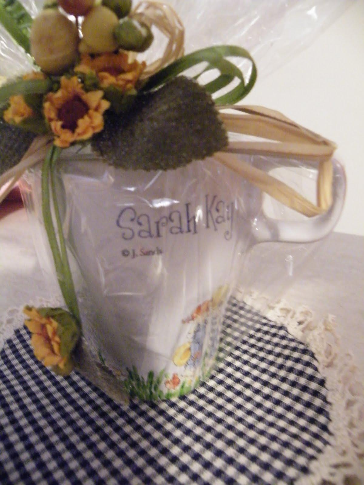 Il mercatino di debby tazza sarah kay decoupage - Mercatino di campagnano ...