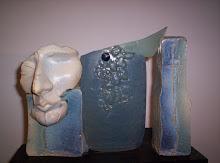 Pranto Azul - Collages escultóricos