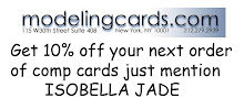 Get 10% off on comp cards at modelingcards.com
