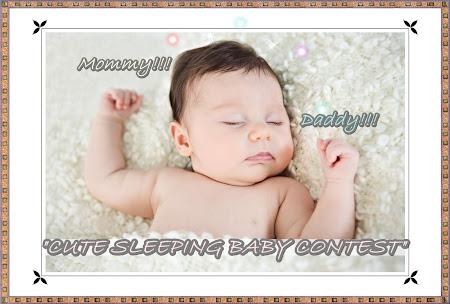 """CUTE SLEEPING BABY CONTEST"""