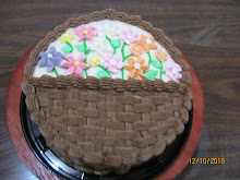 PASTEL CANASTA DE FLORES