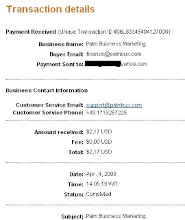 palmbux payment proof