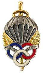 Le brevet prémilitaire parachutiste que 441.000 jeunes françaises et françaises ont mérité.