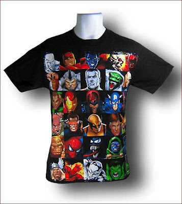 Marvel comics t shirts india
