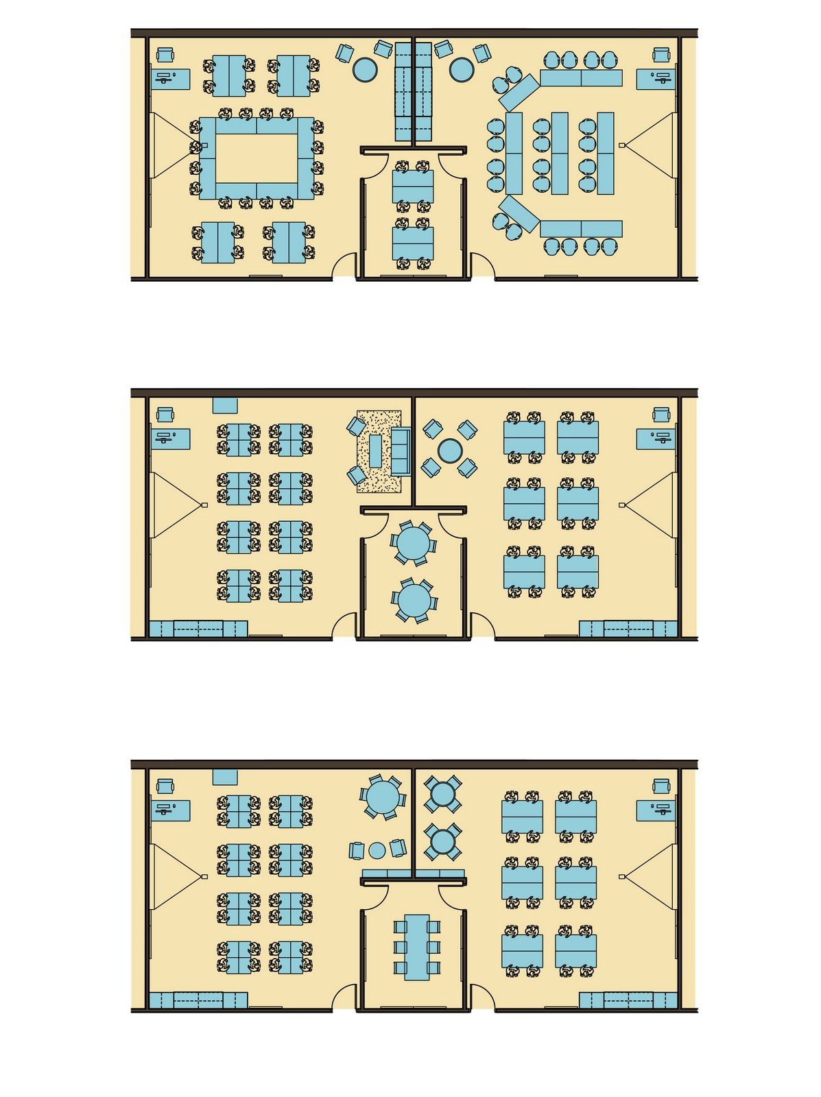 Classroom Design For High School ~ Bedford high school classroom layout options