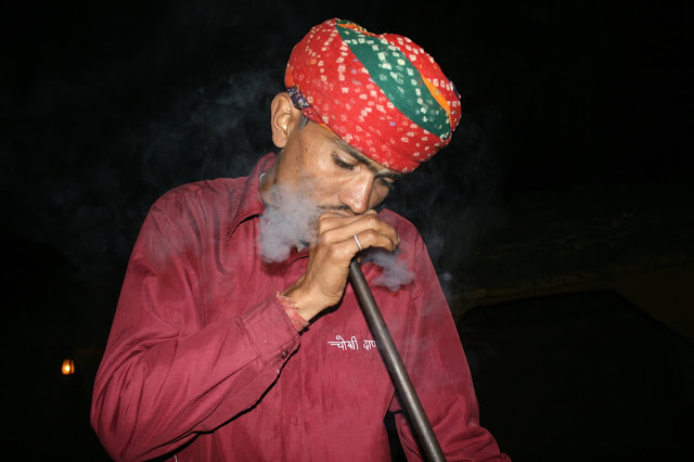 Photograph of Hukka @ Chokhi dhani