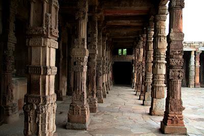 Corridor at Qutub Minar Delhi