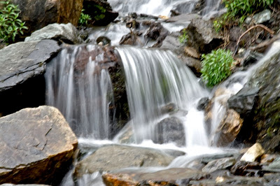 Flowing Water @ Shrikhand Mahadev, Kullu, Himachal Pradesh : Low Shutter speed
