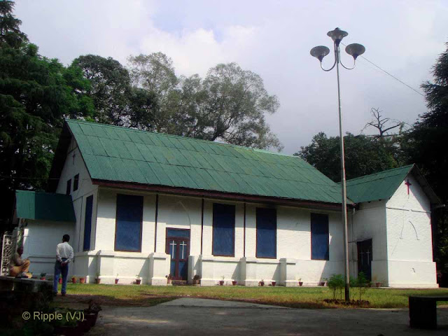 Posted by Ripple (VJ) : Palampur, Himachal Pradesh: Church in Palampur