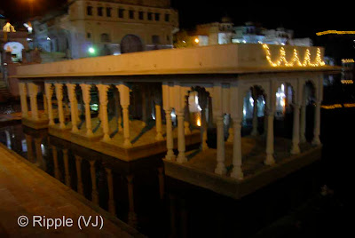 Posted by Ripple (VJ) : Pushkar Night View: Bramh-Ghat @ Pushkar