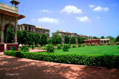 Posted by Ripple (VJ) : A Sunny Day at Red Fort... : ripple, Vijay Kumar Sharma, ripple4photography, Frozen Moments, photographs, Photography, ripple (VJ), VJ, Ripple (VJ) Photography, Capture Present for Future, Freeze Present for Future, ripple (VJ) Photographs , VJ Photographs, Ripple (VJ) Photography : Some new buildings on back side of Red Fort, Old delhi, India...