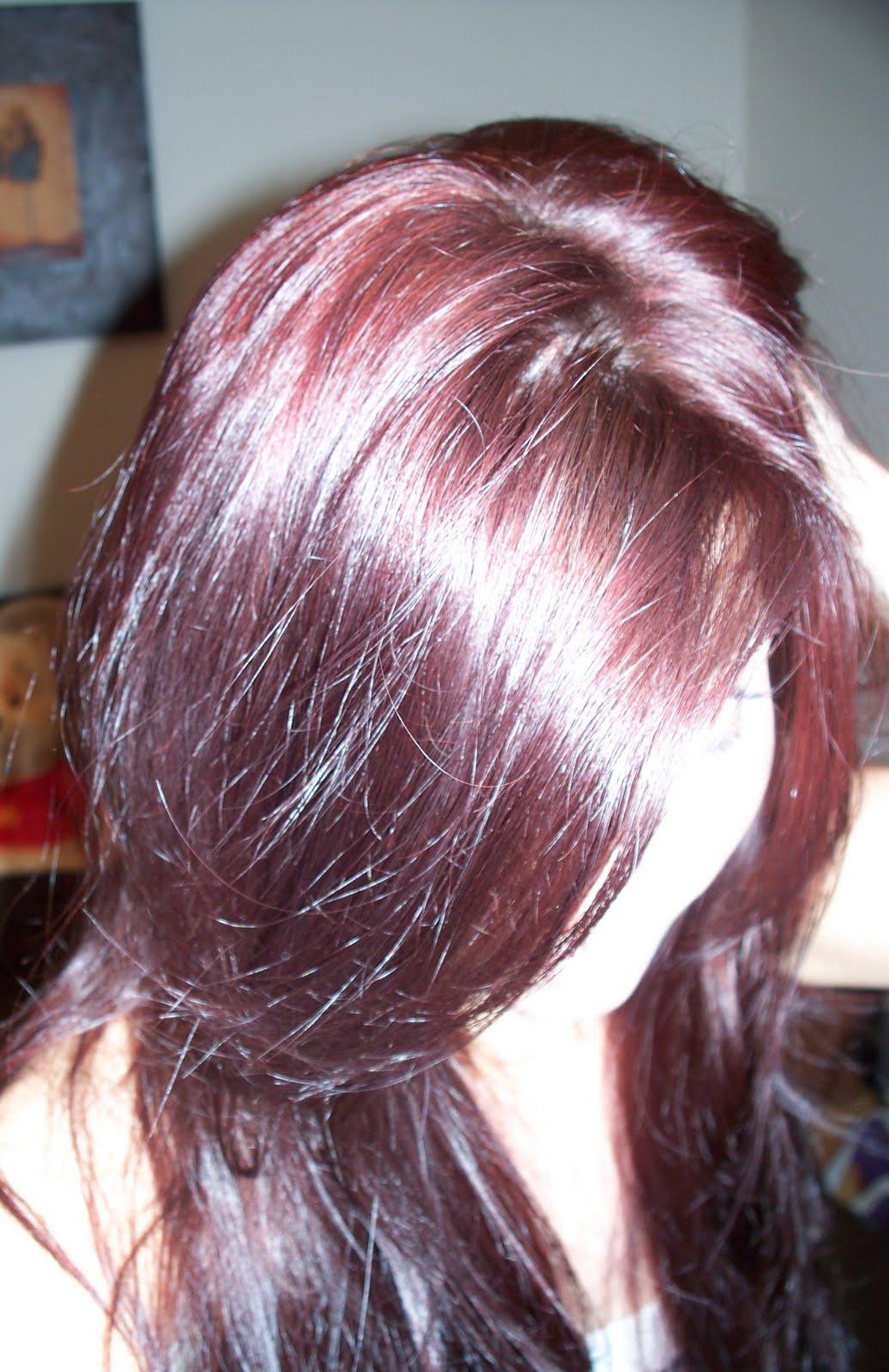 Xxl Live Hair Dye Results Dizzybrunette