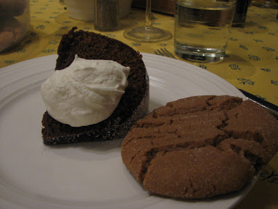 Gramercy Tavern's gingerbead cake and a goodbye