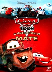 Filme Poster Cars Toon - As Grandes Histórias Do Mate DVDRip XviD & RMVB Dublado