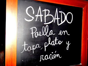 Paella tablero