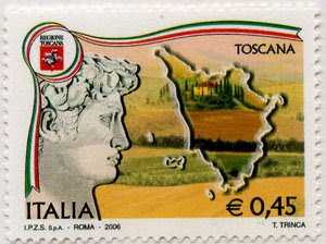 toscana italia stamps