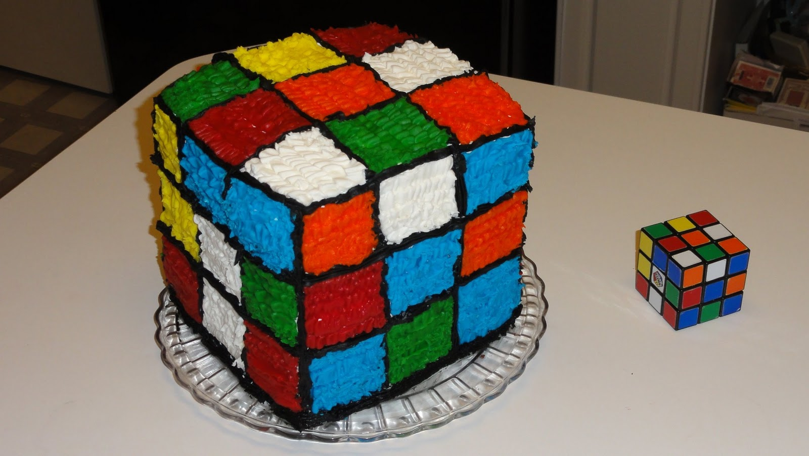dave likes to cook rubik s cube cake