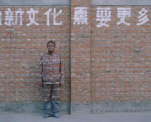 Liu Bolin   Invisible Man in Real Life, Amazing Body Painting Art