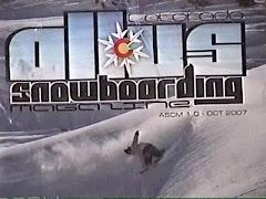 Lasts month allus Snowboarding mag
