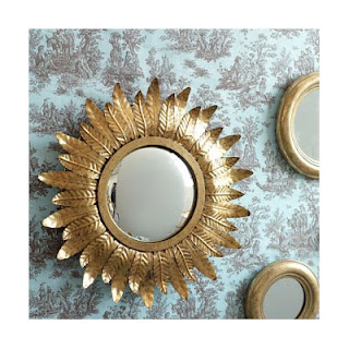 Layla Grace Aurum Convex Wall Mirror