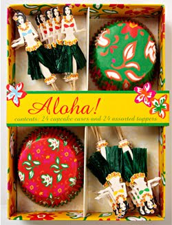 Aloha Party Cupcake Kit