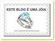 """""""Este blog é uma jóia"""""""